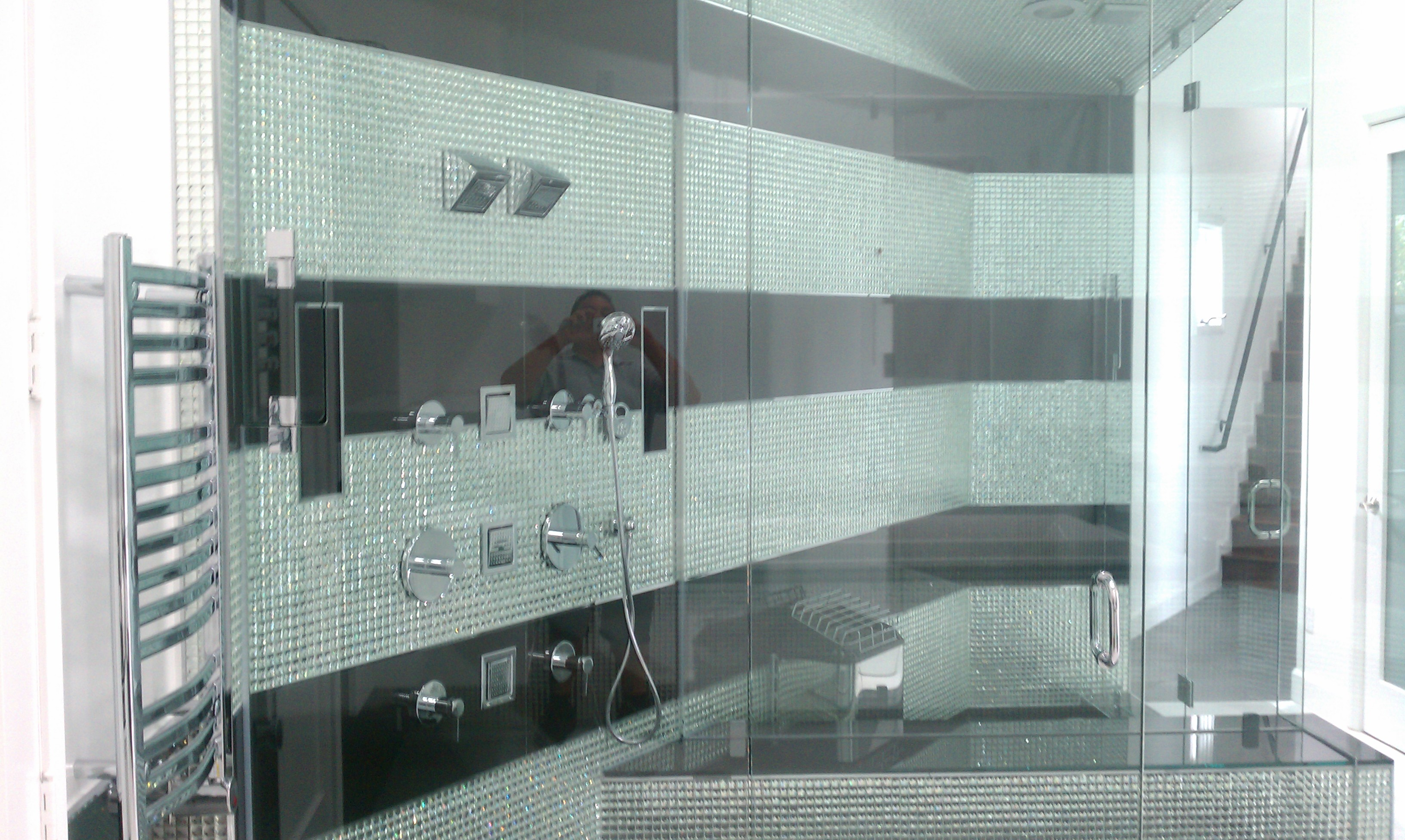 High End Glass Shower Enclosure