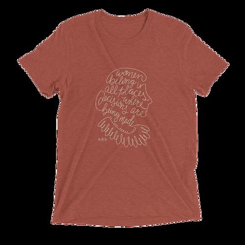 RBG Unisex Vintage T-Shirt - Women Belong