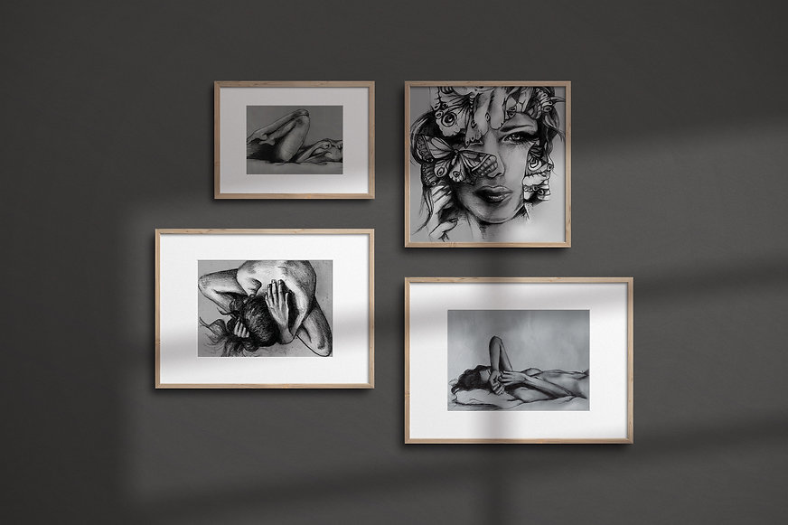 CharcoalSeries-FramedGroup_LinseyGray.jp