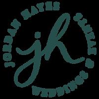 JHayesWeddings_Logo_seal 2-hunter green.