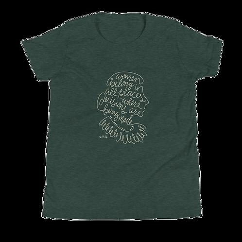 RBG Youth Jersey T-Shirt - Women Belong
