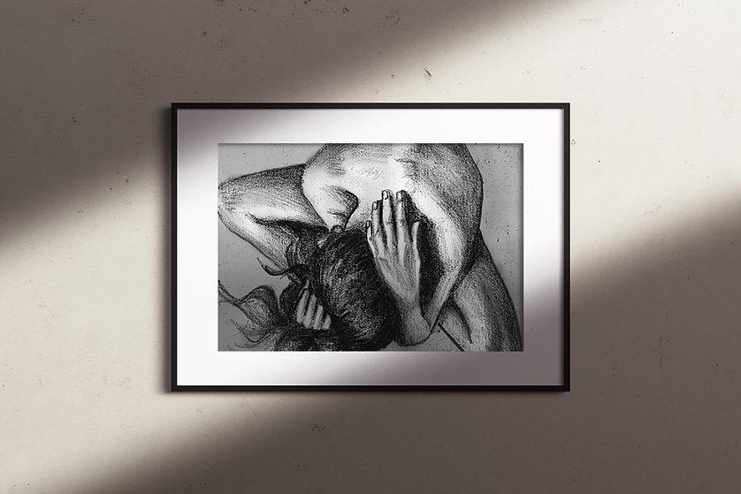 Portfolio-Artwork_FramedCharcoalDrawing.