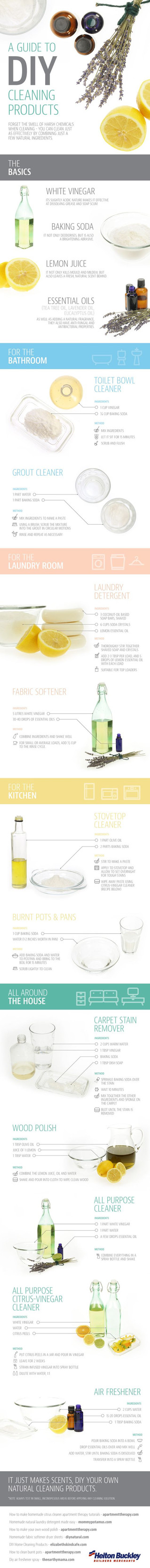The Best House Cleaning Guide!