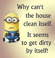 Why Can't The House Clean Itself?