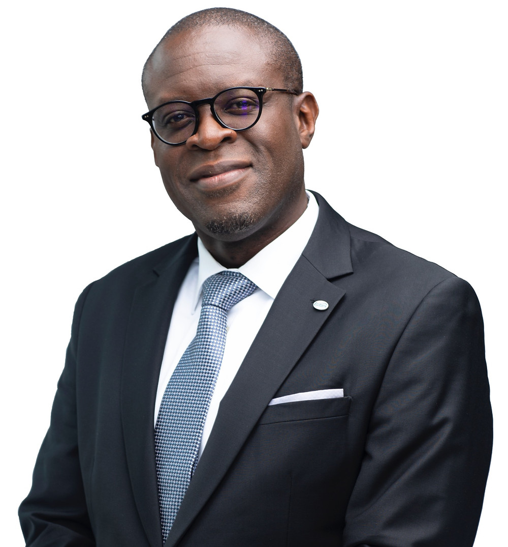 Above: Yves Mayilamene - Group Executive of Human Resources at Ecobank Transnational Incorporated