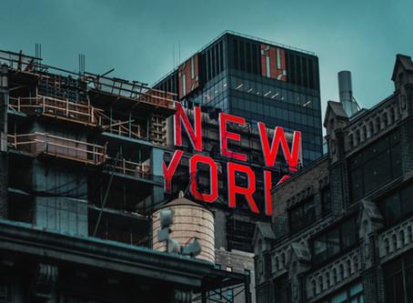 NY市でビジネスの再停止