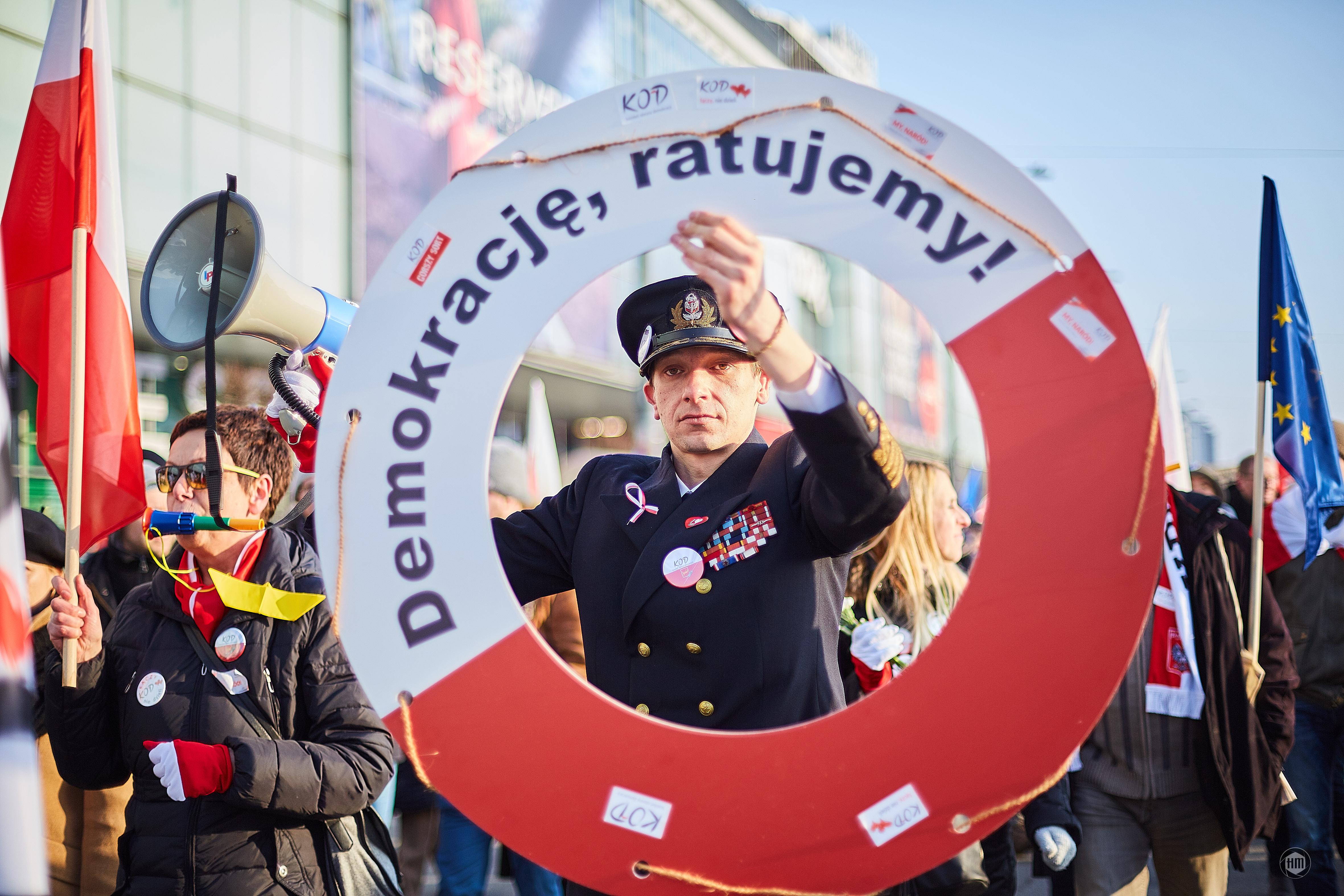 """Demonstracja KOD """"My Naród"""""""