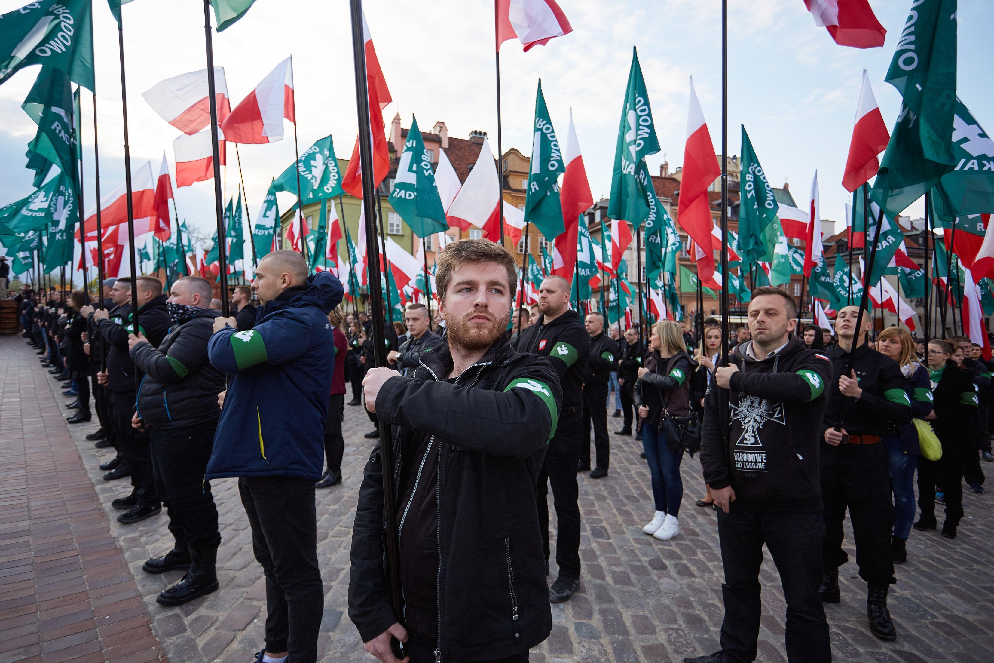 Marsz ONR w Warszawie