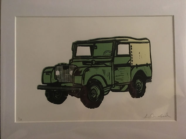 Landcover print