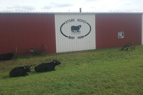 All Natural USDA Angus Beef Cuts sold at Farm Store