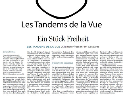 On parle des Tandems dans la presse Luxembourgeoise