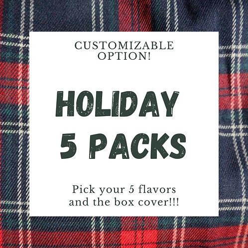 Holiday 5 Packs