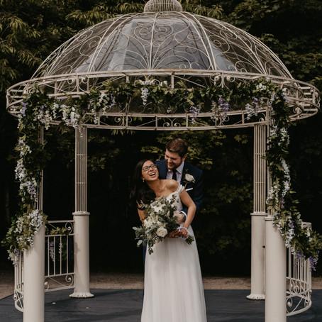 Intimate, Romantic & Stunning Wedding At Theobald's Estate, Cheshunt
