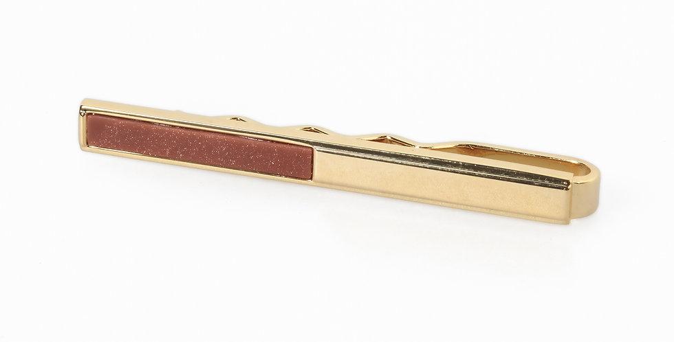 Carnelian Tie Bar