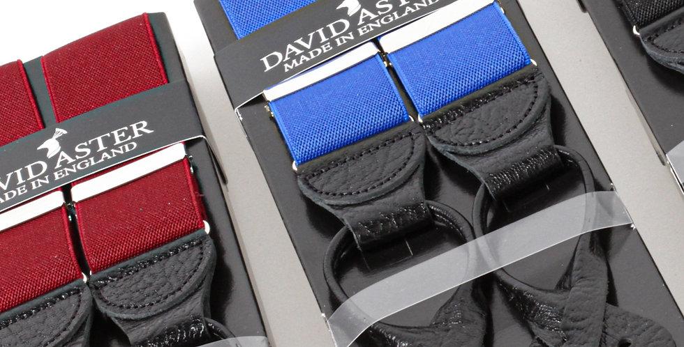 Leather Button Braces