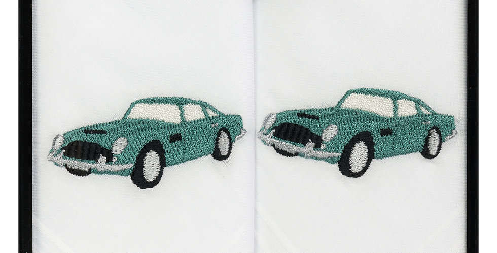 Handkerchief :Classic Car