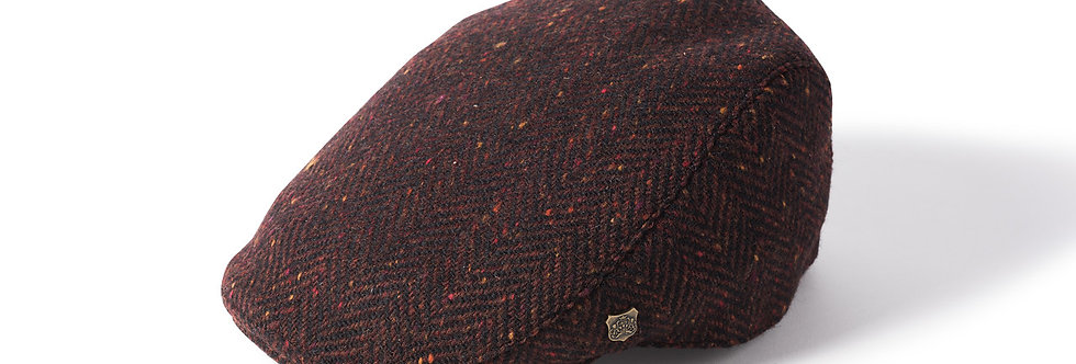 Donegal Tweed : Flat Cap