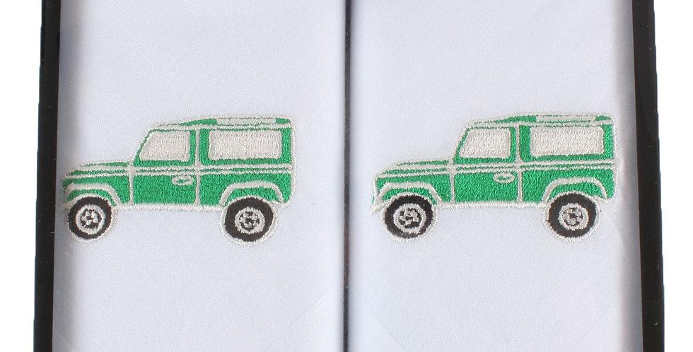 Handkerchief : Landrover