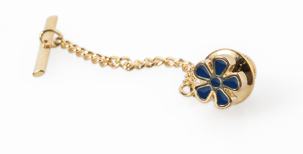 'Forget Me Not' Tie Tac