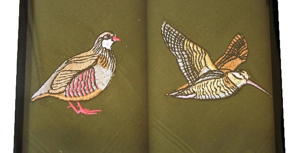 Handkerchief : Birds