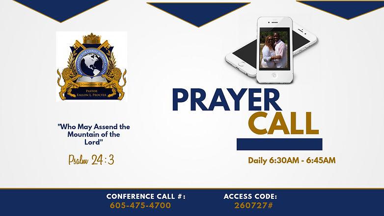 Copy of Copy of Prayer Call Promo - Made