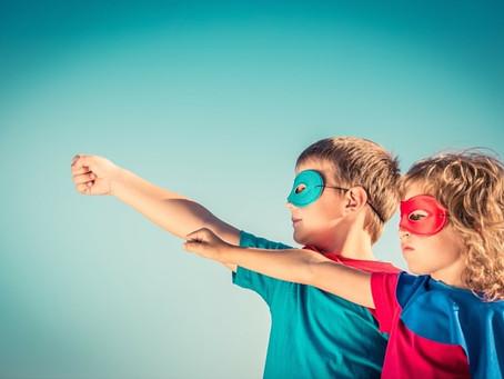 The kids secret super power!