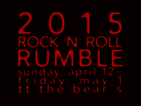 Dates Announced For 2015 Rock N Roll Rumble