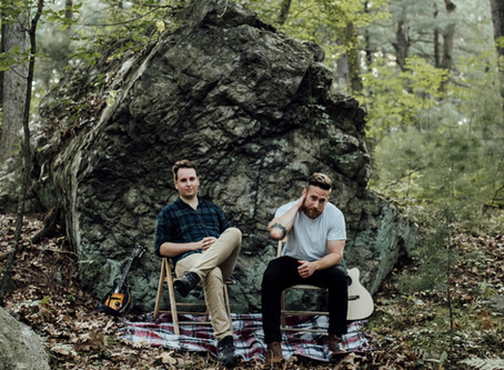 """Somerville Based Folk Duo Jake Swamp & The Pine Release New Track """"My Sister's Old Guitar"""""""