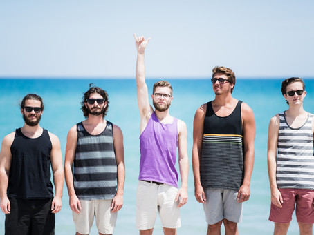 Hop On Board With Florida Based Party Rockers The Helmsmen