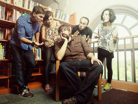 Boston's The Grownup Noise Get Ready For Post Blizzard Show Friday @ The Sinclair