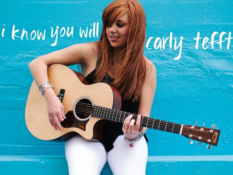 """Boston's Own Carly Tefft Unveils New Song """"I Know You Will"""""""