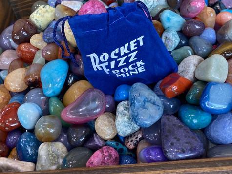 Bag of Rocks - oooh shiny!
