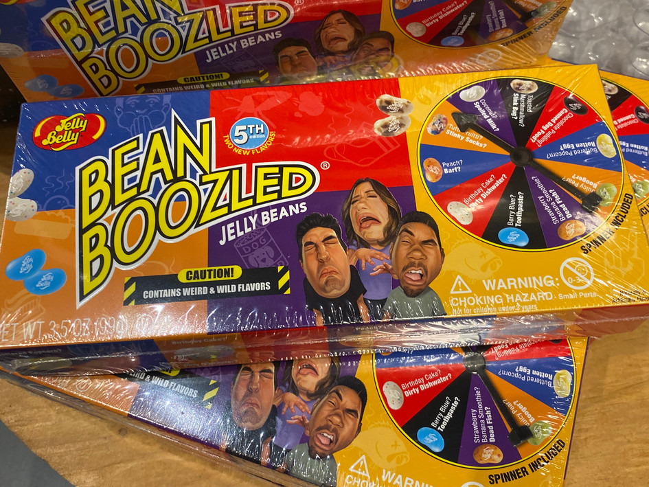 Bean Boozled with Spinner