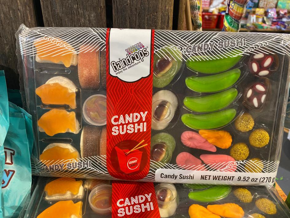 Giant Gummy Sushi