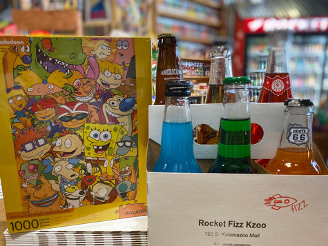 Nickelodeon Puzzle & 6-Pack