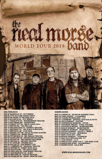 THE NEAL MORSE BAND- The Great Adventure is Released Today; New Video