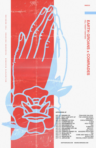 Fall EARTH GROANS Tour w/ COMRADES