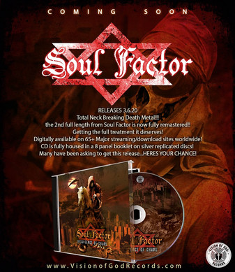 Brazil's SOUL FACTOR - 'Resurgence Of Chaos' is Getting the Remaster Treatment