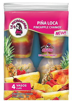 La Michoacana Pina Loca Vasos Pineapple