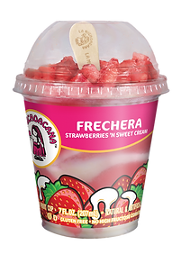 La Michoacana Frechera Frozen Fruit Cup Vaso