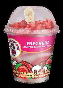 La Michoacana Frechera Frozen Fruit Cup Vaso