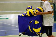 Prática de Voleibol