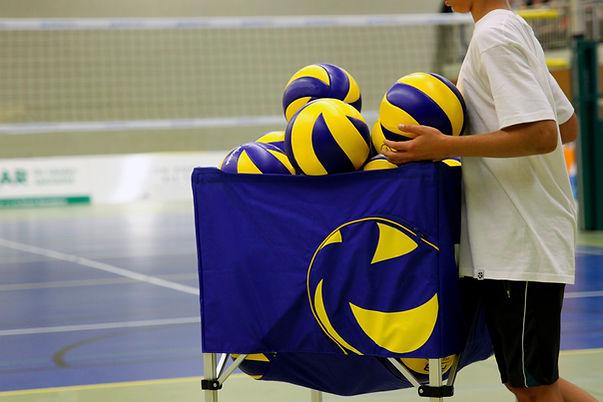 Volleyball-Übung