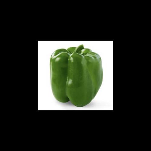 Organic Green Bell Pepper,  1 each