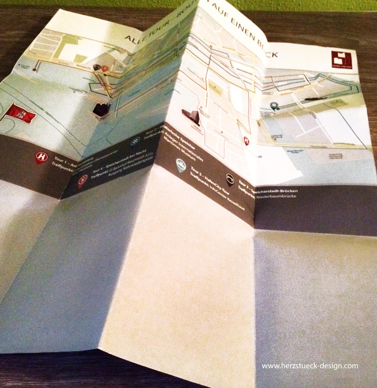Faltplan geöffnet - Seite 2