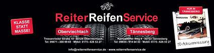 Werbebanner ReiterReifenService - herzstück-design