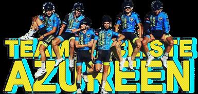 Des coureurs du Team Cycliste Azuréen