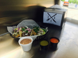 AR Food Truck Tacos and Beans