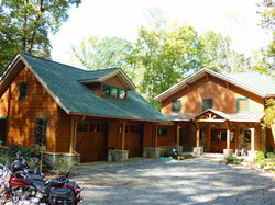 Custom Home at Lake Anna