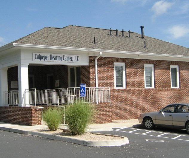 Culpeper Hearing Center Rear